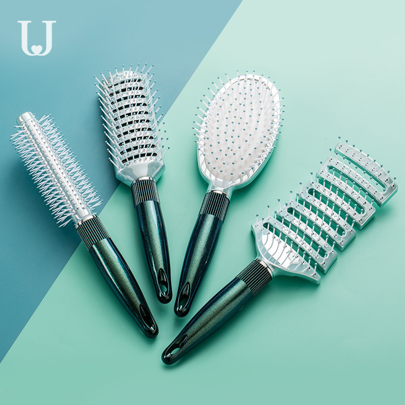 Xiaomi Mi Antistatic Massage Comb Curly Hair Comb Hair Clip Buckle Styling Comb Men Women Hair Salon Professional Cylinder Comb