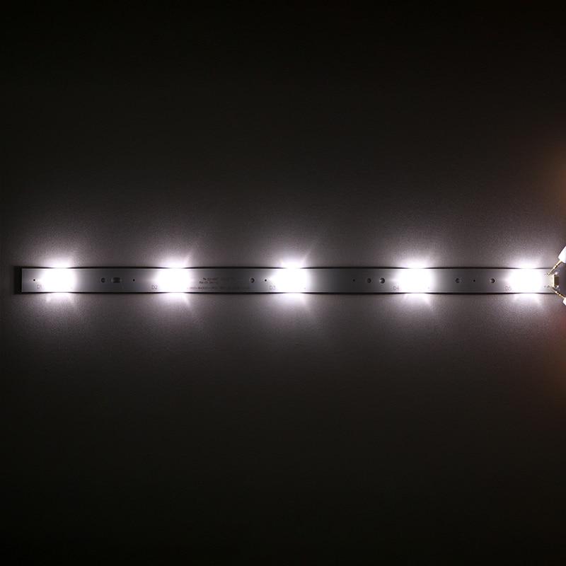 8Pieces lot   FOR  Skyworth   43E3500 43E3000 43X5 TV light strip 5800-W43001-3P00 5P00    40 2CM  3V  100percentNEW