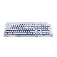 PBT For Mechanical Cherry MX Switch Keycaps 104 Keys Keyboard Parts cherry/Kailh/Gateron/Outemu Translucent Spacebar