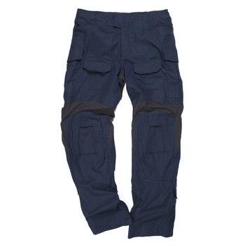 BACRAFT G3 BDU pantalones de caza tácticos al aire libre Airsoft uniforme de combate militar ropa-policía azul