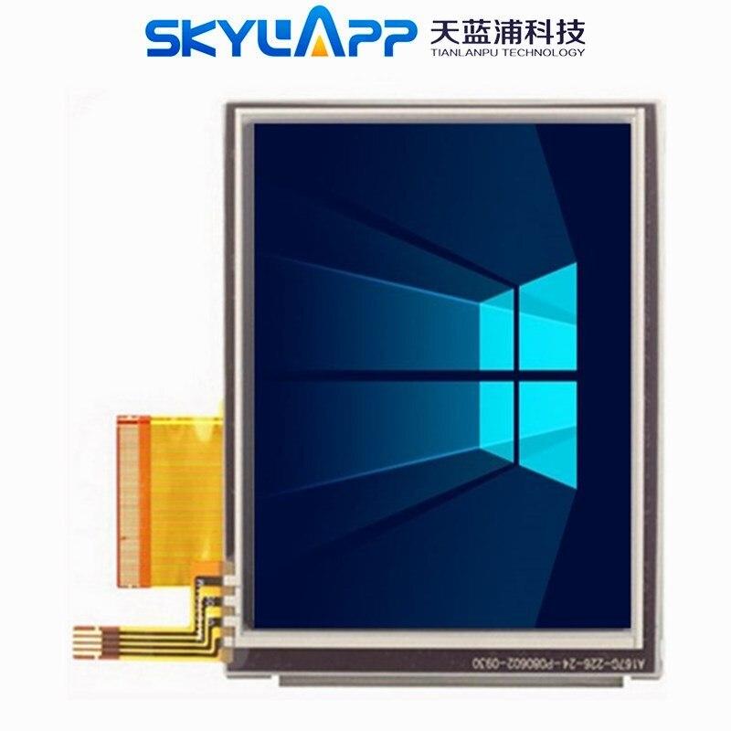 Skylarpu 3.5 inch for Garmin Nuvi 200 255 260 270 275 1200 1240 1250 (Version LQ035Q7DH06) LCD Screen Module Replacement(China)