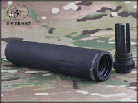 2020 Big Dragon AAC M4-2000 SPR Suppressor Deluxe CNC And Anodize Process Aluminum Paintball Airsoft Hunting Accessories