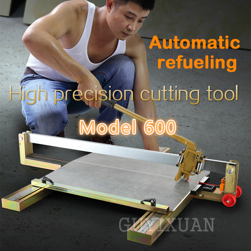 [Model 600] Tile Push Knife 600mm Manual Tile Cutting Machine Floor Tile Cutting Machine High Precision Cutting Tool