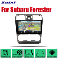 ZaiXi Android Car Radio Stereo GPS Navigation For Subaru Forester 2016~2018 Bluetooth wifi 2din Car Radio Stereo Multimedia