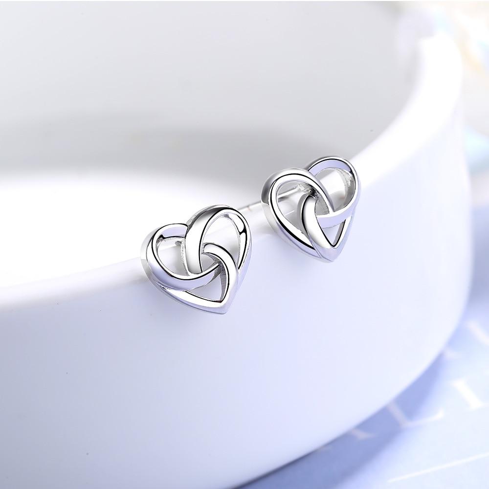 Hearts Stud Earrings