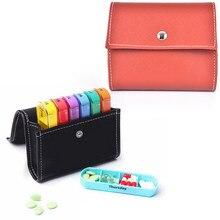 28 siatka 7 dni w tygodniu Pillbox pojemnik do przechowywania pigułki portfel zestaw pudełek apteczka organizator Case portfel apteczka walizka podróżna
