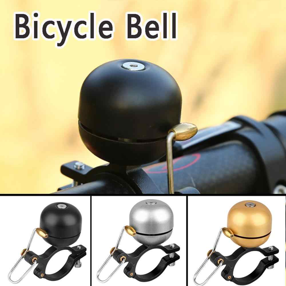 Stainless Steel Bicycle Bell Safety Bike Sound Handlebar Classical Ring Horn Sha
