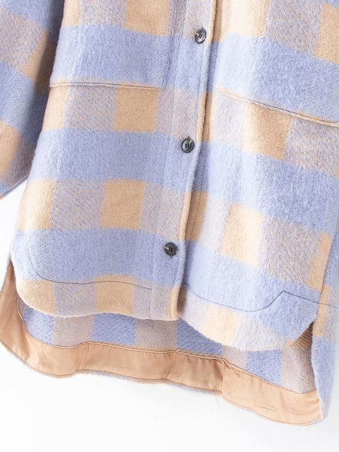 Toppies vintage kafes uzun ceket ceket kadın 2020 bahar gömlek ceket boy artı boyutu kadın ceket