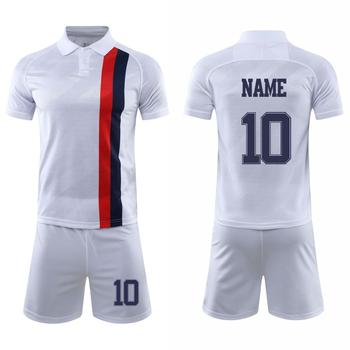 цена на Design Football Kit  Adult Men Soccer Jersey Custom Football Training Sets Blank Diy Any Name Number Logo Jersey Shorts