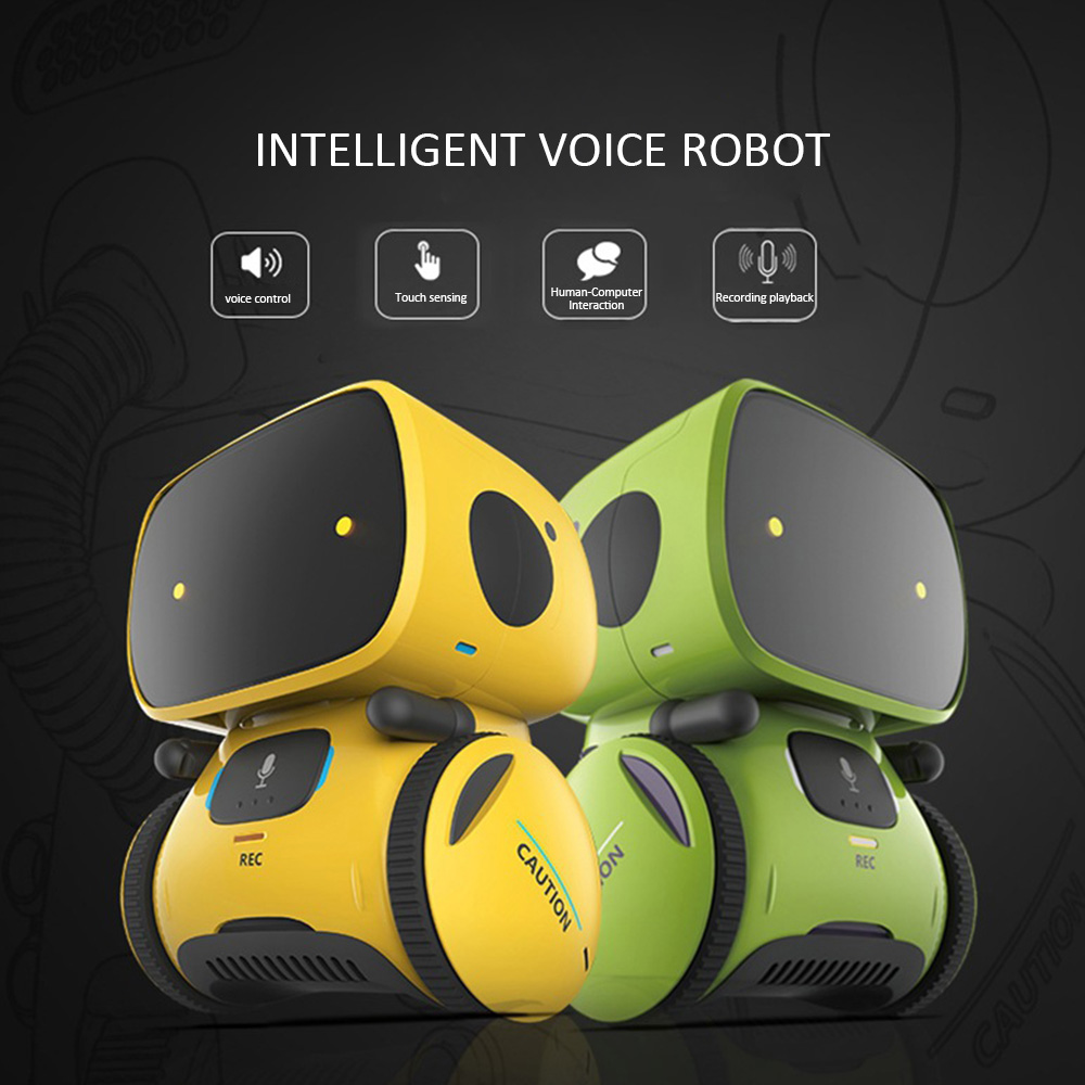 Kids Toys Nteractive Toy Smart Robot Sensitive Intelligent Dialog Recording Touch Control Dance Music Touch-Sensitive 7-14 Year