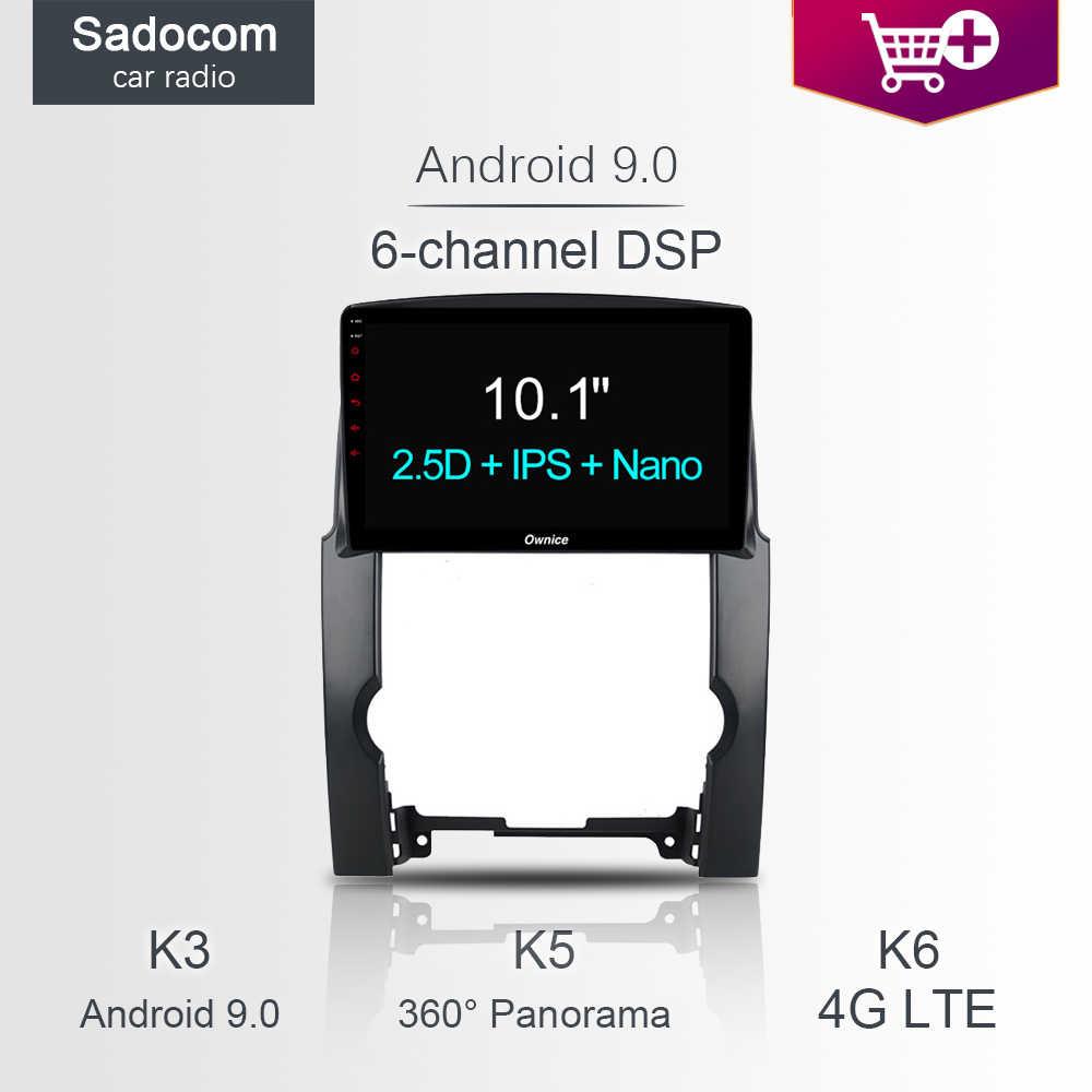 """DSP 10.1 """"2 din مشغل أسطوانات للسيارة لاعب 64GB ROM 4GB RAM راديو السيارة خريطة راديو كاميرا DVR TPMS OBD أندرويد 8.1 لكيا سورينتو 2010 - 2013"""