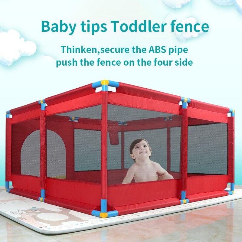 Детский игровой забор, Крытый детский коврик для ползания, детский домашний мяч, бассейн, игрушка, детский Небьющийся забор