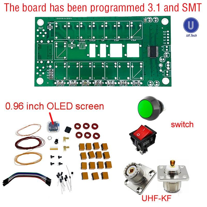 Tuner Diy-Kits Automatic-Antenna ATU-100 Atu100mini N7ddc 7x7 Soldered/by Firmware OLED