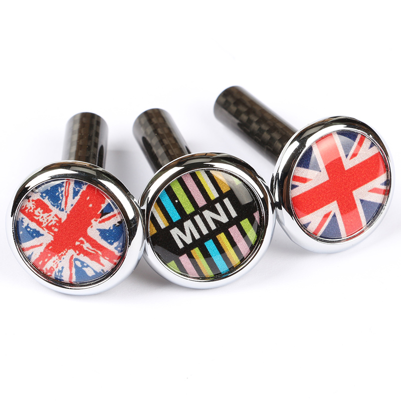 Car Door Bolt Decoration Cover For MINI Cooper F54 F55 F56 F57 F60 R55 R56 R60 R61 Car Accessories Interior Styling Modification