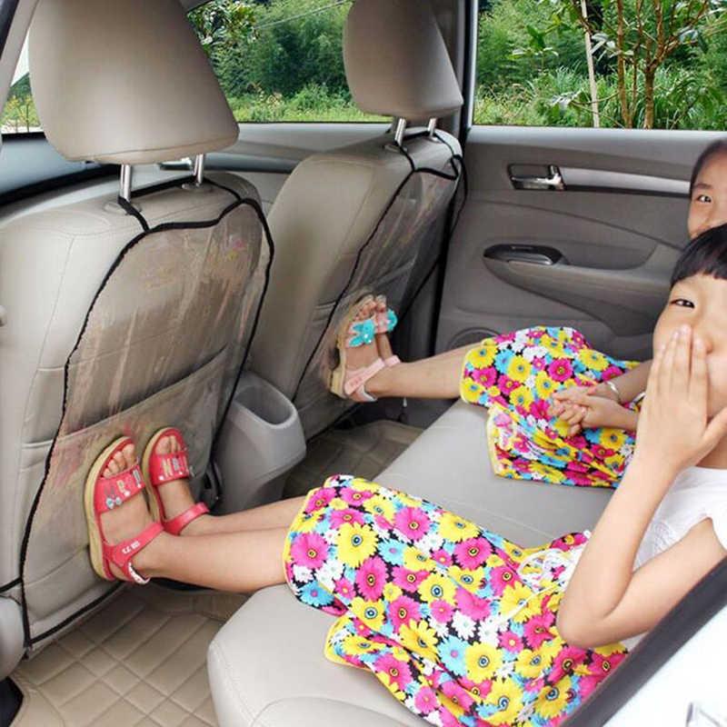 2 pièces utiles siège de voiture dos protecteur coussinets siège housse protecteur voiture Anti coup de pied coussinet Anti-coup de pied protection couverture A30