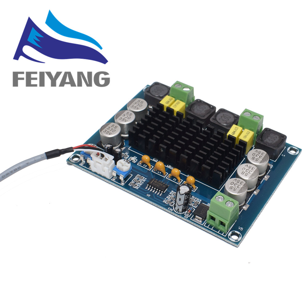 TPA3116D2 Dual-channel Stereo High Power Digital Audio Power Amplifier Board 2*120W