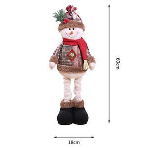 Кукла Санта Клауса, Рождественская елка, орнамент, снеговик, лось, игрушки, новый год, 2021, детский подарок, рождественские украшения для дома,...