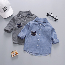 Baby Shirt Childrenswear Clothing Tops Spring Long-Sleeve Fashion Infant Season BOY'S