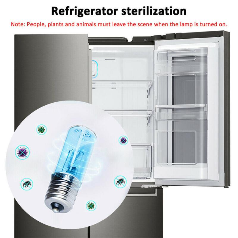 Fast Delivery UV Disinfection LampE27/E26 Home UVC Ozone Disinfection Light Ultraviolet Light Sterilization Corn Bulb Dropship