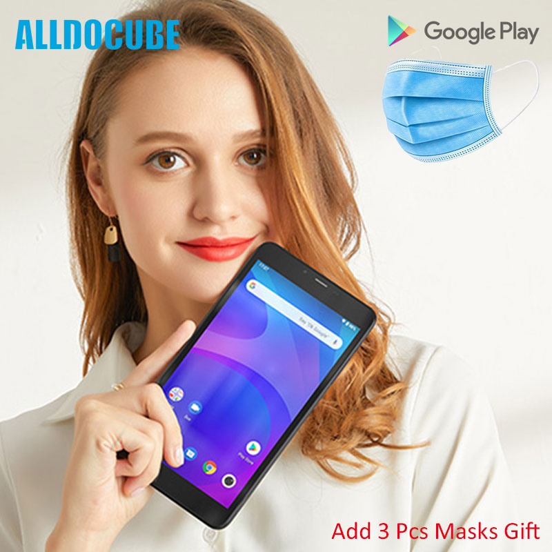 2020 Alldocube IPlay 7T Phone Tablet 7 Inch IPS Screen Unisoc SC9832E Quad Core 2GB RAM 16GB ROM Android 9.0 Wifi Masks Gift