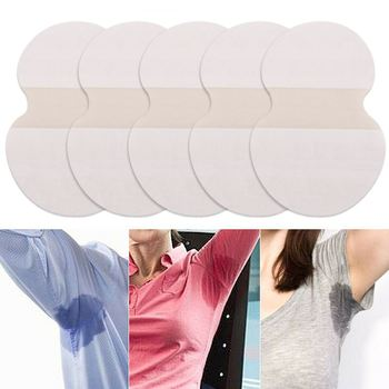 10 pieces of summer underarm pad clothes sweat pad underarm deodorant sticker absorption