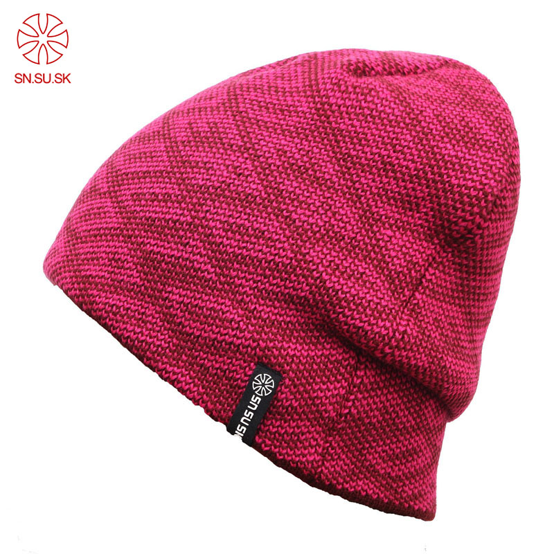 Popular Brand Knitted Cap Men And Women All Appropriate Winter Ski hats Sports 8 Colors Retail Gorro Free Shipping