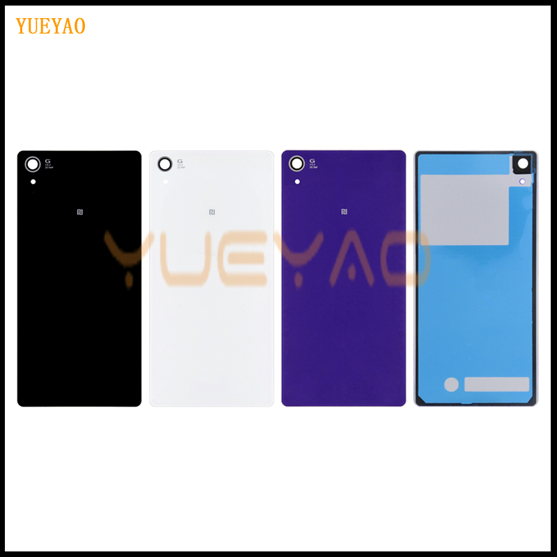 YUYEAO High Quality Back <font><b>Cover</b></font> For <font><b>Sony</b></font> Xperia <font><b>Z2</b></font> D6543 L50W D6503 Housing <font><b>Battery</b></font> <font><b>Cover</b></font> Door Rear <font><b>Cover</b></font> Chassis Frame image