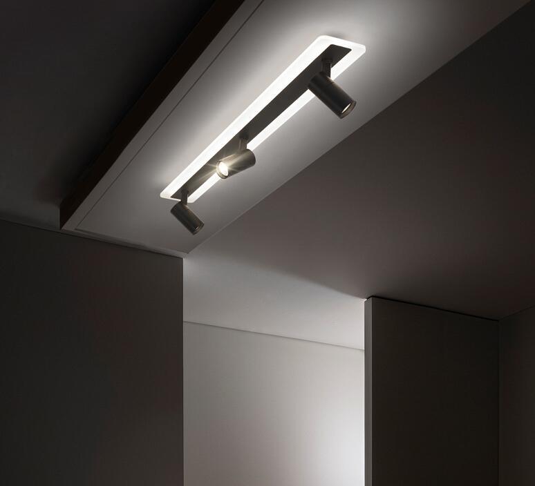 claraboia doméstica sem luz principal iluminação sala