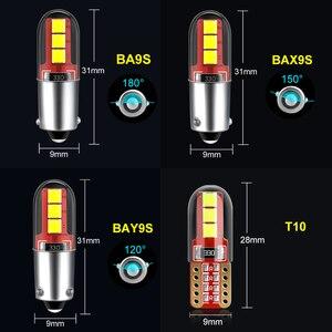2 шт. BA9S светодиодный BAX9S H21W BAY9s светодиодный автомобильный фонарь заднего хода автомобильные парковочные номерные знаки подсветка Интерьер Карта Купол лампы 12 В Белый