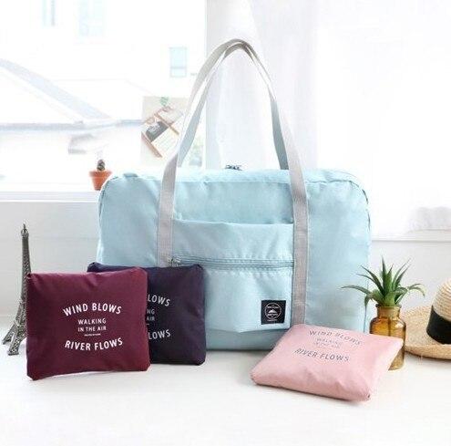 Folding Storage Bag Travel Luggage Waterproof Bag Unisex Large-capacity Luggage Storage Bag Clothing Storage Bag Travel Handbag