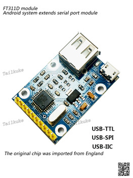 FT311D/FT312D Module Android Android USB to Serial Port SPI I2C Gpio Pwm Module
