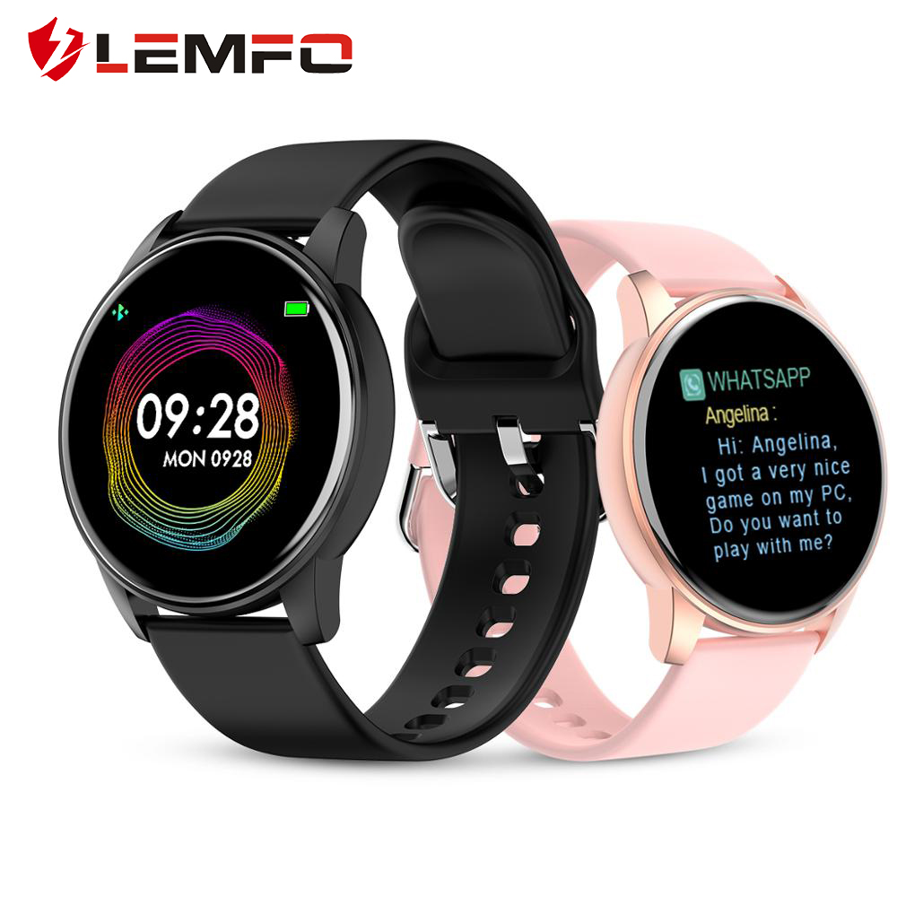 LEMFO Q5pro Women Smart Watch Men Smart watch Android IOS Support Weather Forecast Heart Rate Health Tracker Blutoot Push/Music|Smart Watches| |  - AliExpress