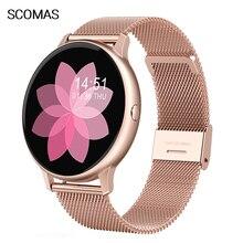 SCOMAS 2020 Luxury Women Smart Watch 1.3