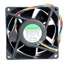 Voor Sunon PMD1208PMB1-A Koelventilator Voor YW713 80X80X38 DC12V 0.76A 8038 80X80X38mm 8Cm