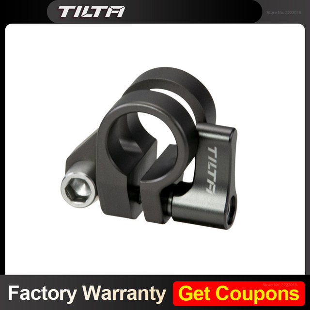 Tilta 15mm צד יחיד מוט בעל TA SRA 15 G עבור Tilta bmpcc 4k מצלמה כלוב