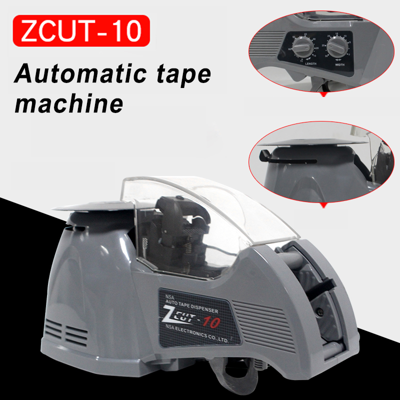 Tools : ZCUT-10 Automatic Tape Cutting Machine Carton Packing Machine Cutter Sealing Machine Dispenser Convenient And Efficient Work