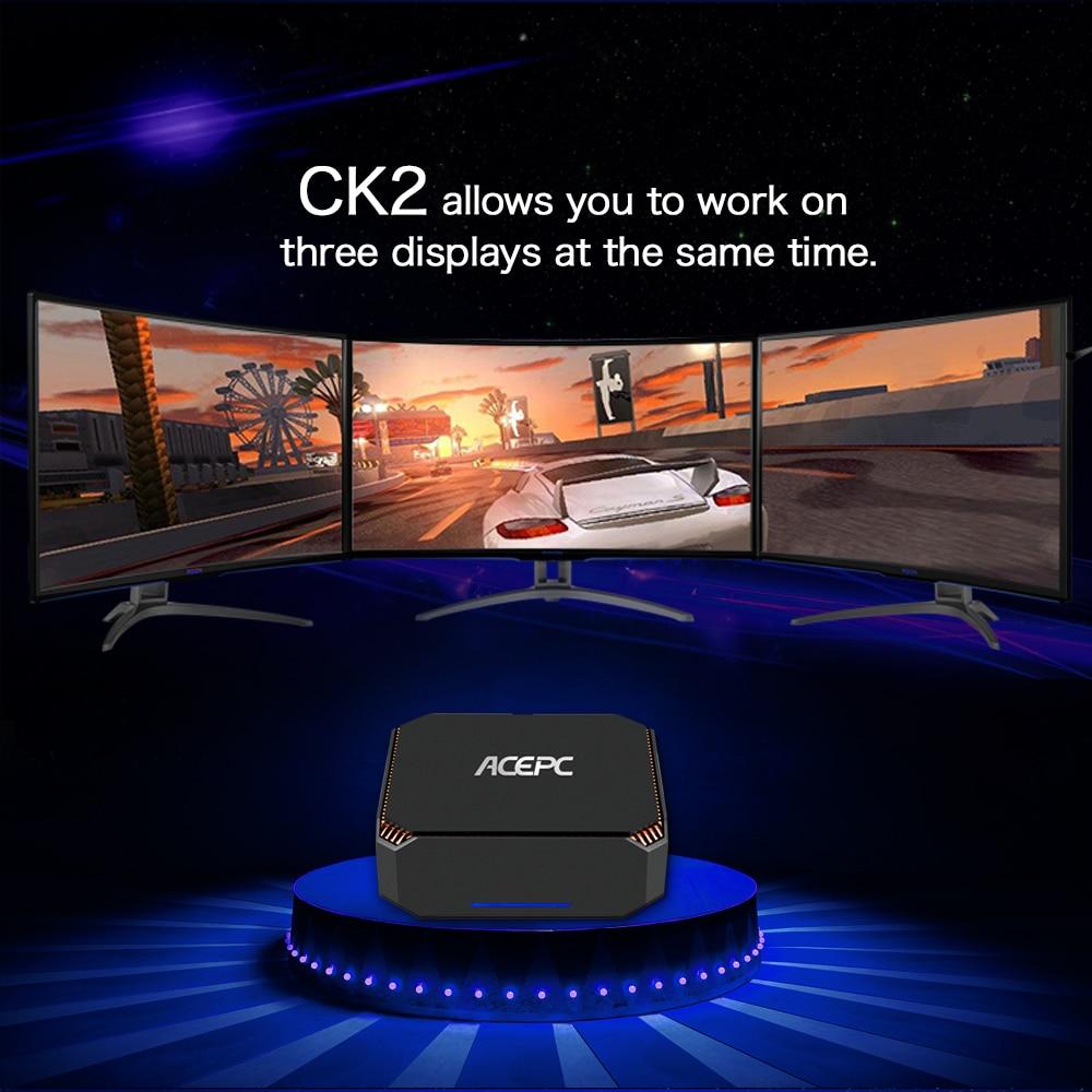 ACEPC Mini Gaming Intel-Core I5 7200u Windows10 7100U CK2 Linux Gigabit Wifi HDMI VGA