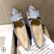 Women Female flat Pointed Shoes Classics Basic Pumps Toe Slip On Casual Spring Autumn 2020 New Arrival