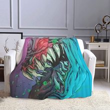 Stylish Madball Blanket Polyester Fiber Super Soft Blanket Warm Sofa Blanket Air Conditioning Blanket 80