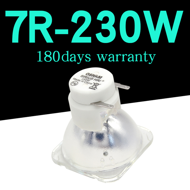 MOQ 1pc beam moving head light manufacturer rsd 230 watt 7r lamp