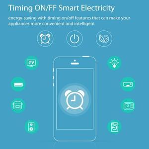Image 5 - Akıllı tak Wifi akıllı soket Tuya akıllı yaşam App ab tak telefon zamanlama çıkış anahtarı uzaktan kumanda Alexa Google ev mini IFTTT