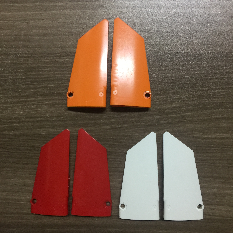 4set/lot DECOOL Technic Panel 5x11 17# 18# Compatible 64392 64682 Bricks Building Blocks Toys Technic Parts