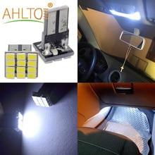 2 Stuks Auto Leds T10 W5W Canbus Wit 1206 12SMD Led Achterlichten Voertuig Dashboard Bollen Dc 12V Lamp Parking light Side Marker Wedge Lampen