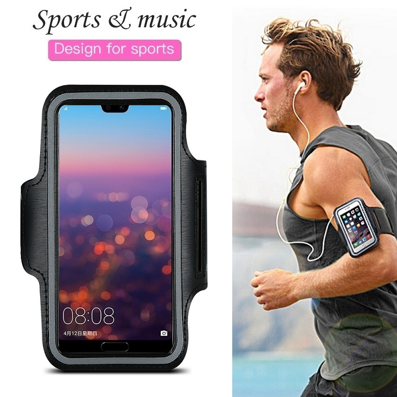 Sports Running Phone Bag Case for Huawei P30 P20 P40 Pro P10 P9 P8 Lite 2017 Mate 30 20 10 Lite Pro Case Arm Band Cover on Hand