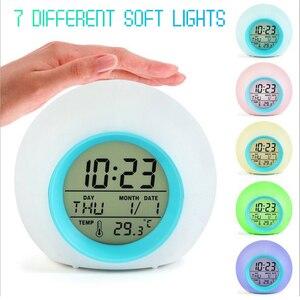 LED Alarm Clock Light Digital