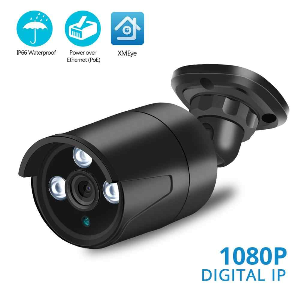 BESDER Impermeabile Super HD 5MP PoE CCTV IP Esterna In Casa Telecamera di Sicurezza Wired Motion Detection Onvif App XMEye