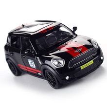 1:32 Toy Car BMW Mini Countryman Diecast Alloy Metal Car Model for MINI Coopers Model Pull Back Car Toy Vehicles Miniature 105