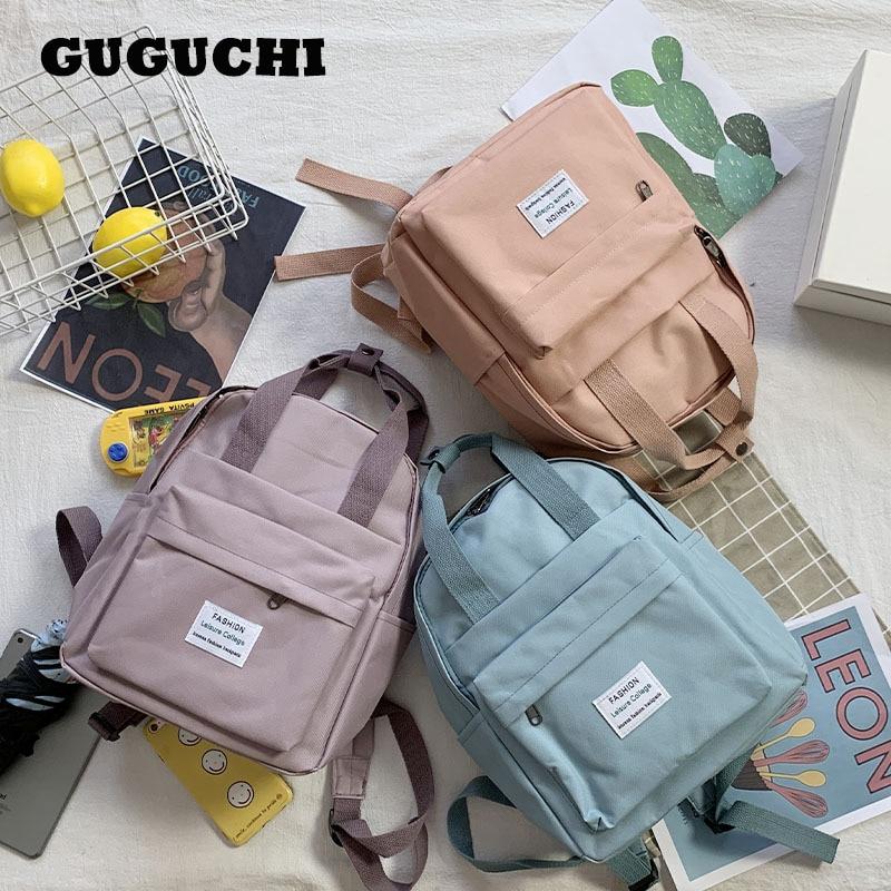 Women Backpack For Teenage Girls 2020 Summer New Fashion Female Casual School Students Shoulder Bags Sweet Travel Backpacks