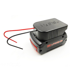 Image 2 - Прочный литий ионный аккумулятор конвертер для DIY Кабель выходной адаптер для Makita 18 в для Bosch 18 В литиевая батарея конвертер аксессуары