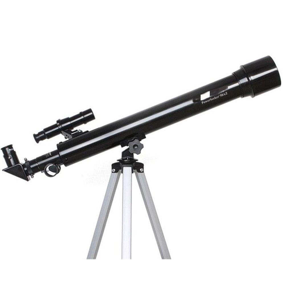 50AZ adulte télescope Vision nocturne HD grossissement élevé visualisation enfants étudiants entrée Portable télescope astronomique